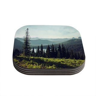 Kess InHouse Sylvia Cook 'Discover Your Northwest' Landscape Coasters (Set of 4)