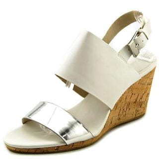 Calvin Klein Women's 'Bibbi' Leather Sandals