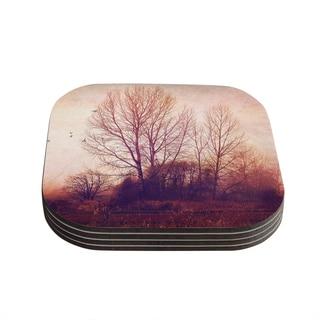 Kess InHouse Sylvia Cook 'Explore' Coasters (Set of 4)
