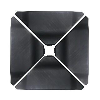 Havenside Home Acapulco Black Plastic Umbrella Base Plate Set for Cantilever Offset Umbrella