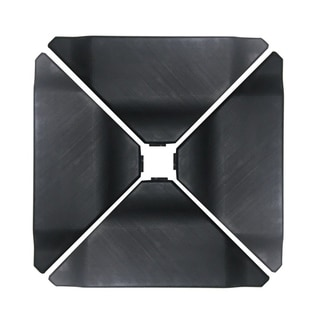 Abba Black Plastic Umbrella Base Plate Set for Cantilever Offset Umbrella