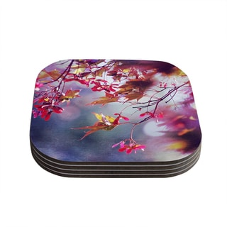 Kess InHouse Sylvia Cook 'Autumn' Coasters (Set of 4)