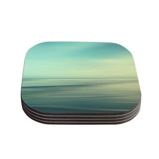 Kess InHouse Sylvia Cook 'Beach' Coasters (Set of 4)