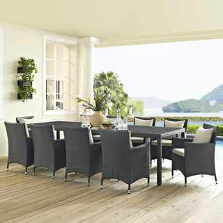 Stopover 11-piece Outdoor Patio Dining Set