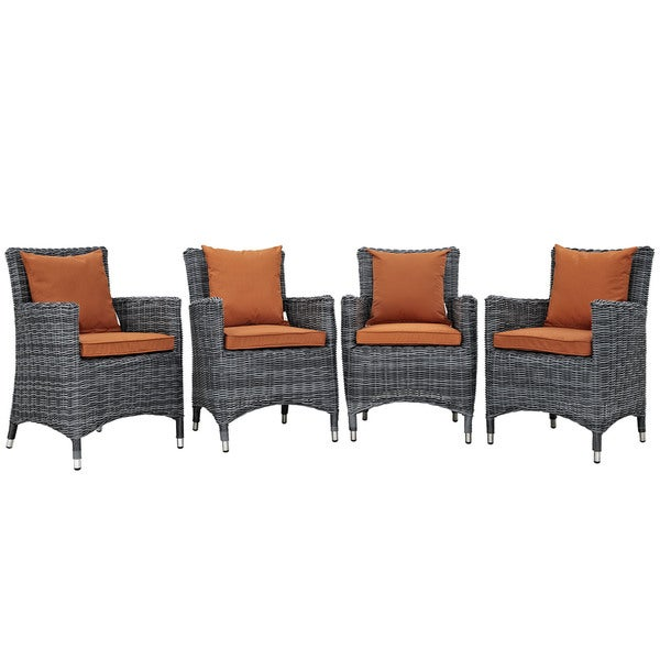 Invite 4 Piece Outdoor Patio Chairs