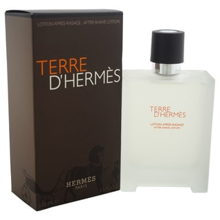 Hermes Terre D'Hermes Men's 3.3-ounce Aftershave Lotion