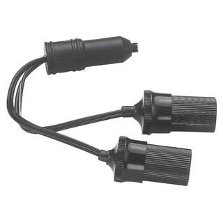 Custom Accessories 70051 12 Volt Twin Plug-In Cigarette Lighter Sockets