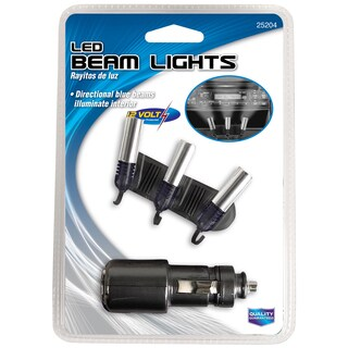 Custom Accessories 25204 Triple Beam Lights