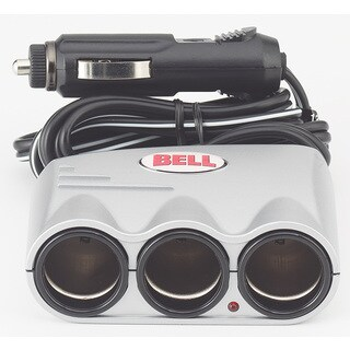 Bell 39061-8 12 Volt Triple Socket Splitter & Adapter