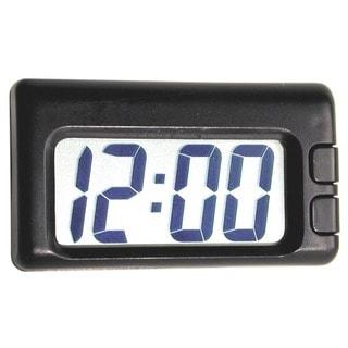 Custom Accessories 73360 Black Jumbo Time Quartz Travel Clock