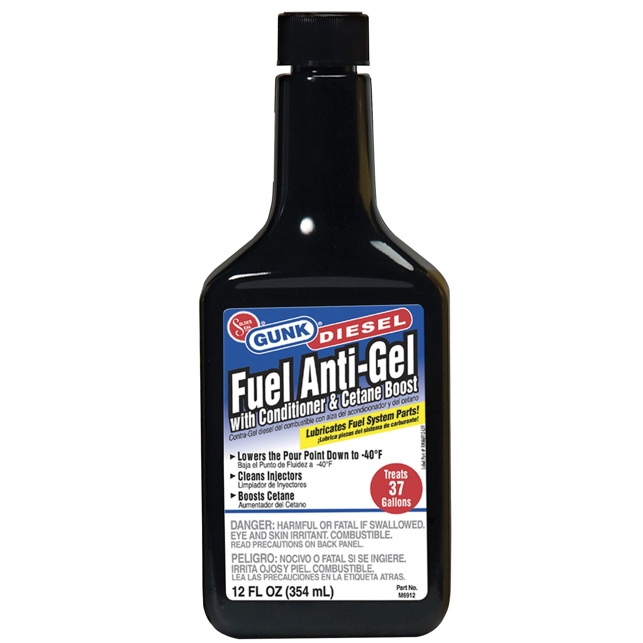 Gunk M6912 12 Oz Diesel Fuel Anti-Gel (Car care/cleaning)...