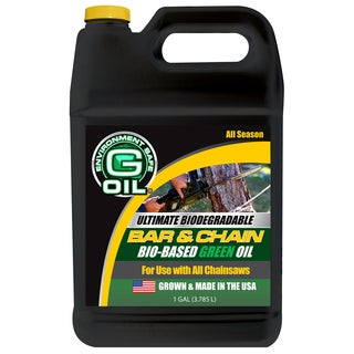 Maxpower 337122 1 Gallon Bar & Chain Green Engine Oil