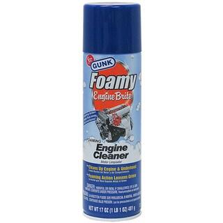 Gunk FEB1CA 17 Oz Foamy Engine Brite Cleaner