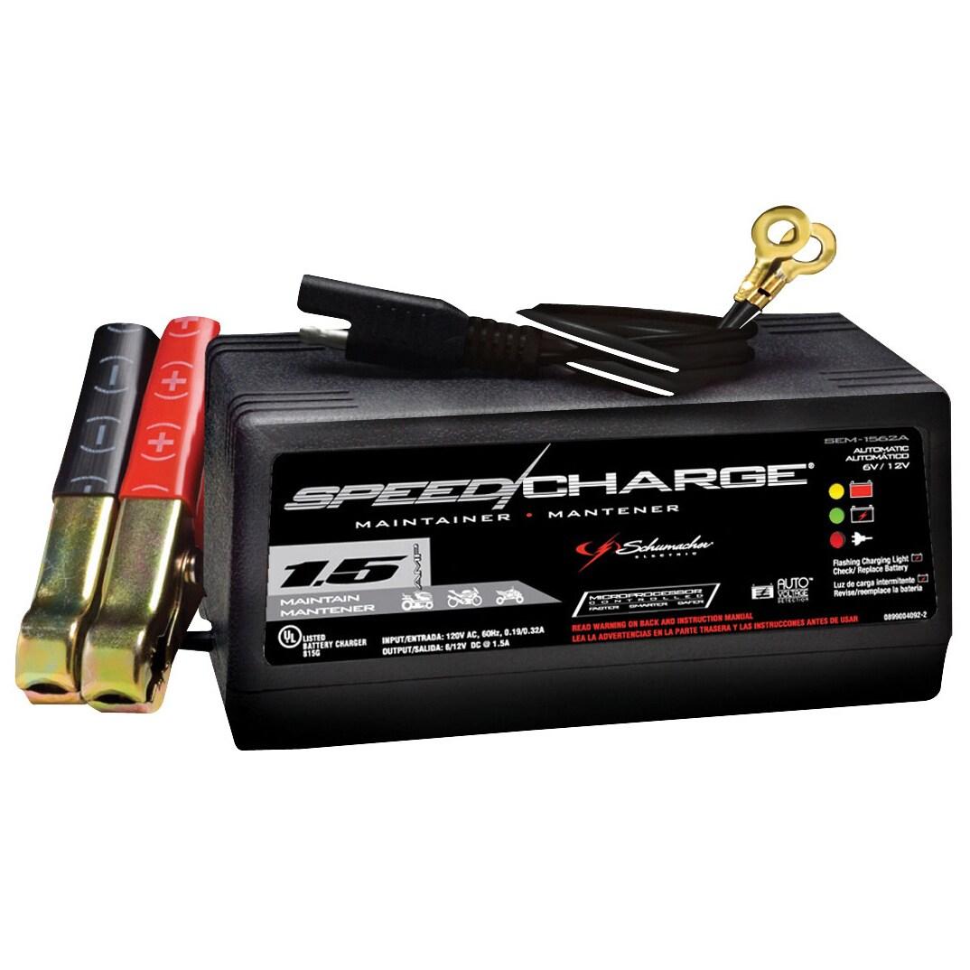 Schumacher SEM-1562A 1.5 Amp Automatic Battery Trickle Ch...