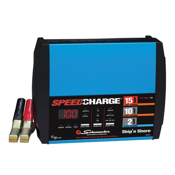 schumacher ship n shore 10 amp battery charger manual