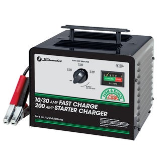 Schumacher SE-3010 10/30/200 Amp Fast Charge Starter Charger