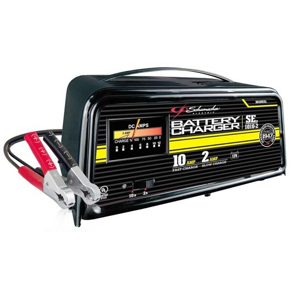 exide 12 volt 6 2 amp manual battery charger