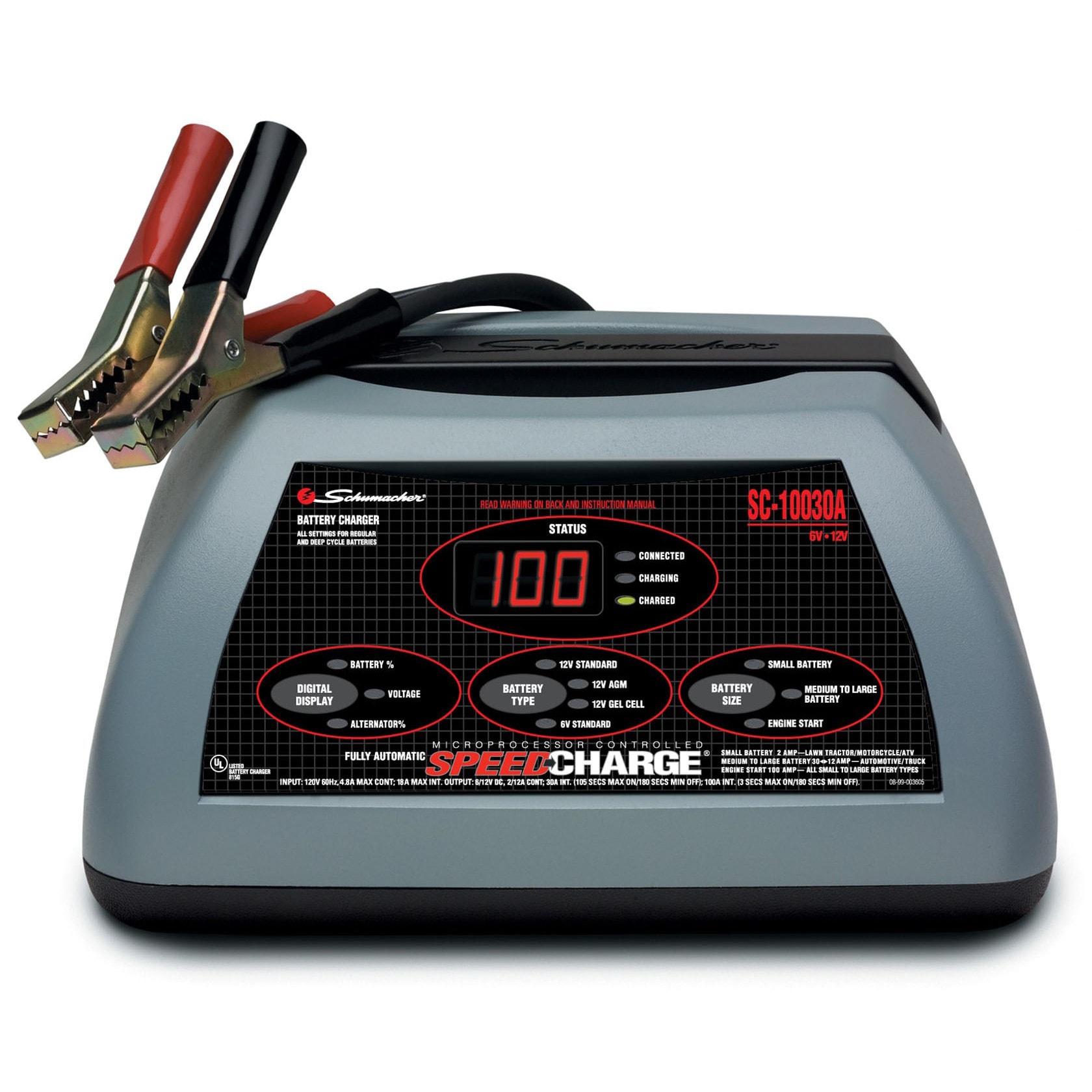 Schumacher SC-10030A 100 Amp Speed Charger (Batteries & c...