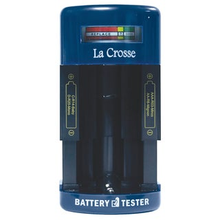 LaCrosse Technology 911-114 Portable Battery Tester
