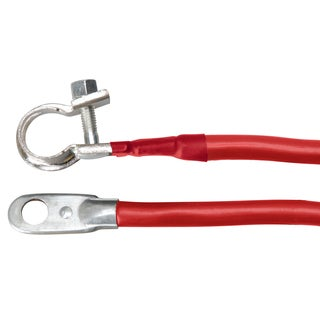 Coleman Cable 27-4R 27-inch Red 4 Gauge Battery Cable