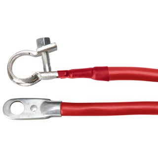 Coleman Cable 19-4R 19-inch Red 4 Gauge Battery Cable