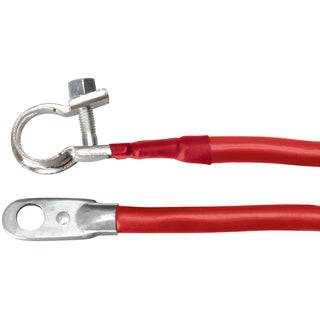 Coleman Cable 15-4R 15-inch Red 4 Gauge Battery Cable