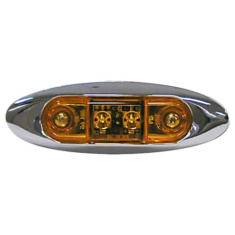 PM V168XA Amber Slim Line Clearance & Side Marker Lights Kit