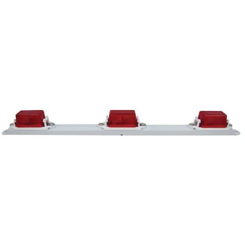 PM V107-3R Red Mini Light Bar