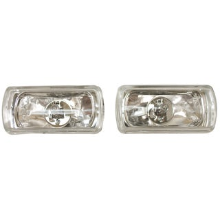 Blazer International RE774C Clear Rectangular High Intensity Halogen Driving Light Kit