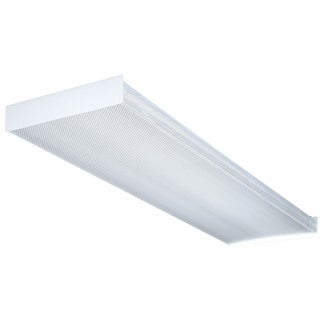 Lithonia Lighting SB4321201/4GESB 4' Wt 4 Bulb T8 Fluorescent Wraparound Ceiling Light Fixture