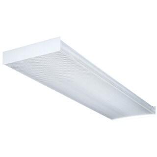 Lithonia Lighting SB4321201/4GESB 4' Wt 4 Bulb T8 Fluorescent Wraparound Ceiling Light Fixture