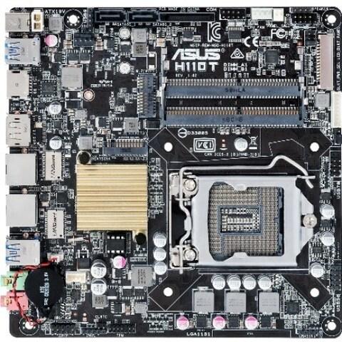 Asus H110T/CSM Desktop Motherboard - Intel Chipset - Socket H4 LGA-11