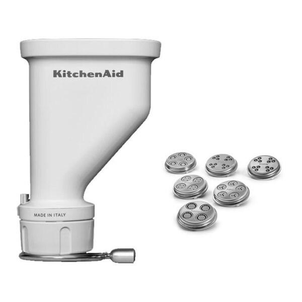 Kitchenaid Ksmpexta Gourmet Pasta Press Attachment With 6