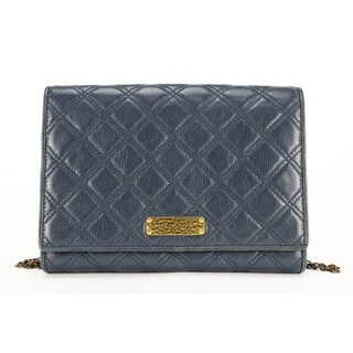 Marc Jacobs Women's Blue Leather Shoulder Bag