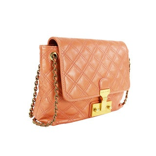 Marc Jacobs Women's Pink Leather Shoulder Bag