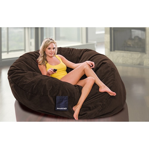 Shop Sumo Sultan Large Beanbag Chair Free Shipping Today