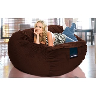 Sumo Titan Brown Corduroy Large Bean Bag Chair