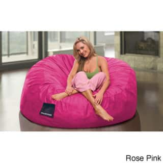 Amazing Shop Sultan Microsuede Bean Bag Chair Free Shipping Today Bralicious Painted Fabric Chair Ideas Braliciousco