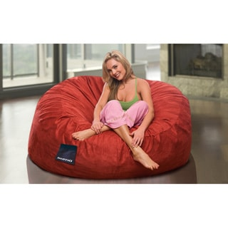 Shop Sultan Microsuede Bean Bag Chair Free Shipping Today Overstock