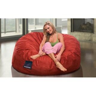 Shop Sultan Microsuede Bean Bag Chair - Free Shipping Today - Overstock.com  - 11779825 9e7e7659f091d