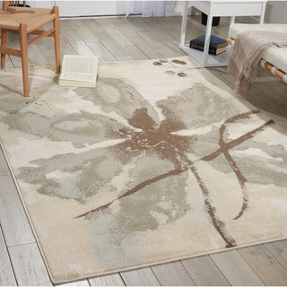 Link to Nourison Euphoria EUP07 Floral Area Rug Similar Items in Transitional Rugs