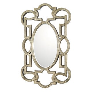 Capital Lighting Transitional Antique Silver Decorative Wall Mirror