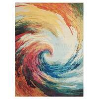 Nourison Celestial Wave Rug (3'11 x 5'11) - 3'11 x 5'11