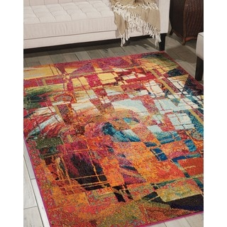 Nourison Celestial Stained Glass Rug (3'11 x 5'11)