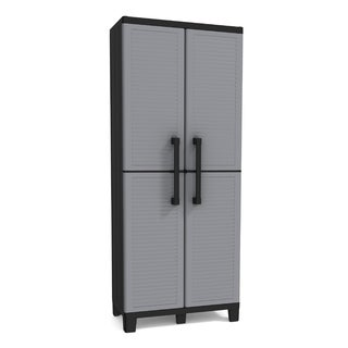 Keter Space Winner Plastic Utility Storage Cabinet with Adjustable Shelves