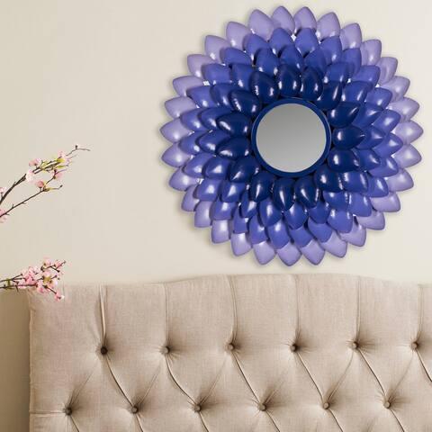 "SAFAVIEH Chrissy Retro Purple Gradient 27-inch Decorative Mirror - 27"" x 27"" x 1.5"""