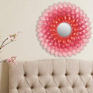 Safavieh Chrissy Retro Pink Gradient 27-inch Mirror
