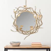 Safavieh Gold Wreath Antique Gold 34.5 x 39-inch Mirror