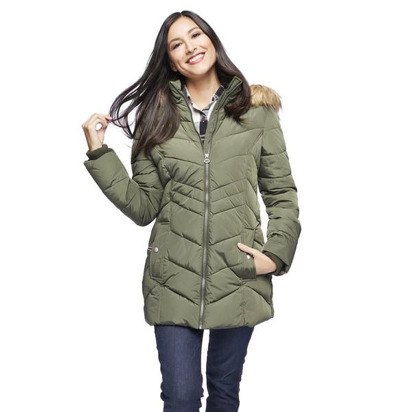 Shop Tommy Hilfiger Women S Hooded Puffer Jacket Free