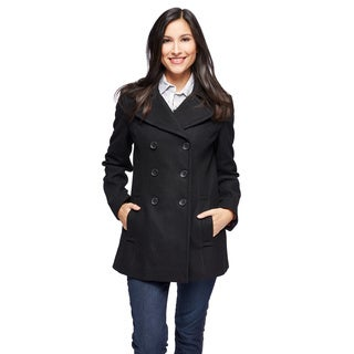 Tommy Hilfiger Women's Wool Blend Puffer Coat